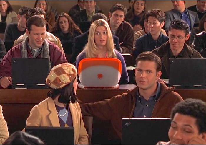 iBook depicted in legally blonde movie