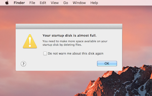 What is Startup Disk Full on Mac OS?