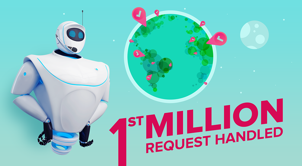 1st Million Request Handled