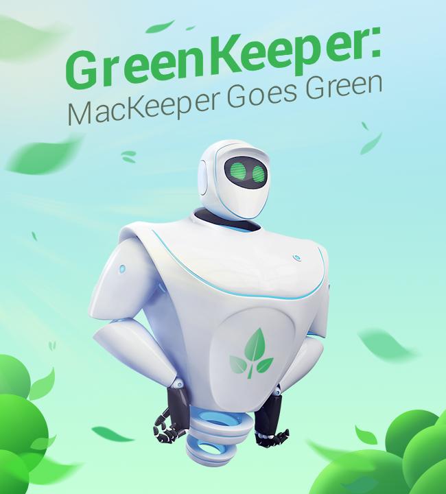 MacKeeper™ Goes Green