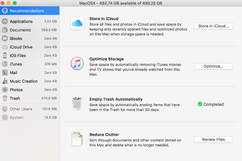 how to buy more disk space on mac