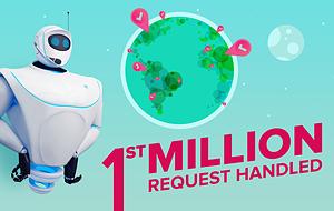 1st Million Request Handled
