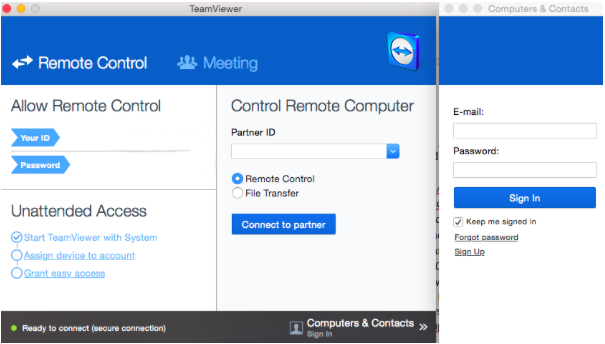 Have you ever considered connecting to remote Mac desktop
