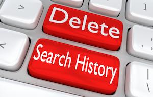 How to clear Firefox history manually